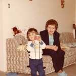 1984 with Baba Porter