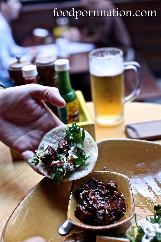 bone marrow & beef brisket taco 2