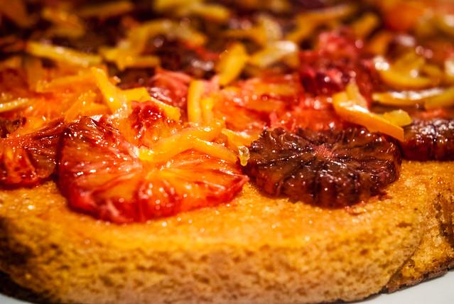 Polentacake met sinaasappel en Campari
