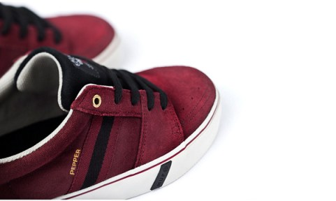 HUF_Pepper_Pro_Burgundy_Black_Ink_Detail_1