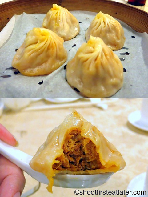 hairy crab meat with pork dumpling