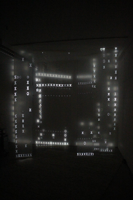 mayer+empl . osa_bw . video mapping sculpture . munich . 2013