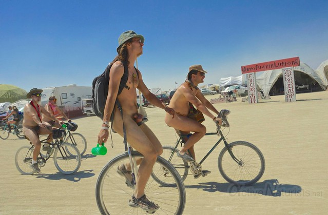 naturist 0010 Burning Man 2012, Black Rock City, NV, USA