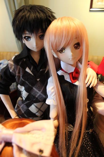 juu-yuki's Kirito and Asuna