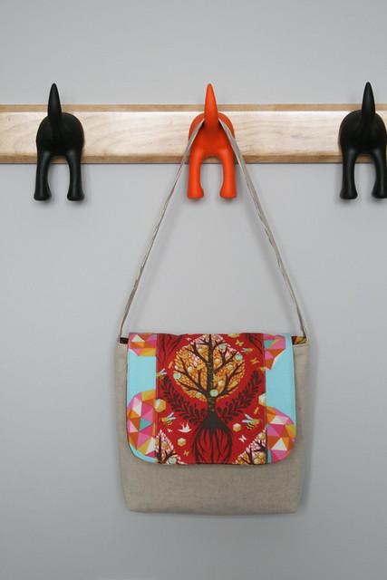 A Little Girl's Birthday - Messenger Bag
