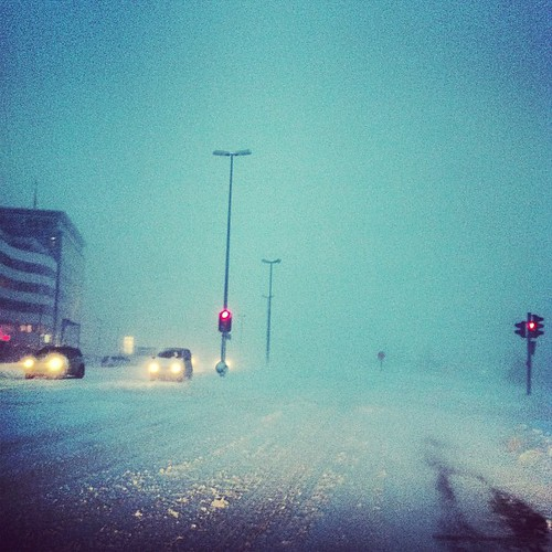 It's late, but #winter finally arrived to #reykjavik #iceland