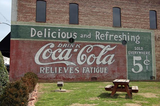 Coca Cola Wall
