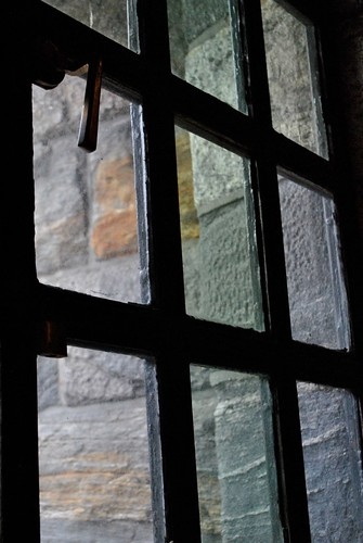 Cloisters - Old Lead Windows