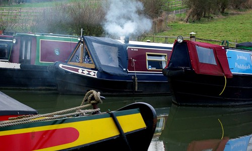 20130113-24_Narrow Boats - Grand Union Canal - Braunston by gary.hadden