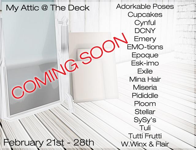 My Attic - COMING SOON - February