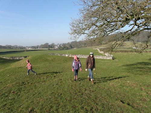 A walk across the fields