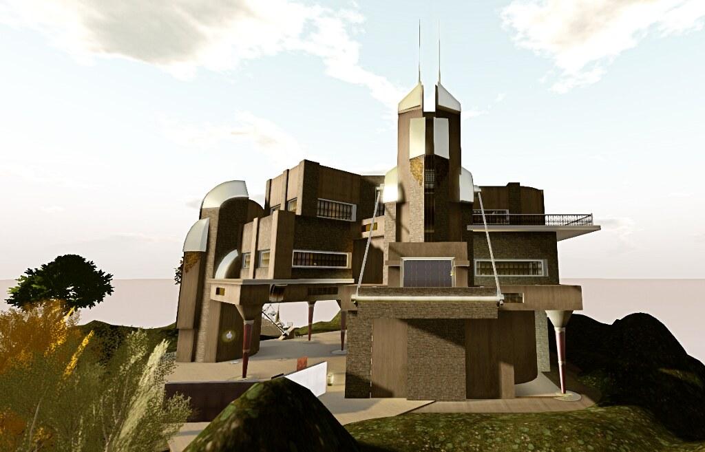 The Skye Steampunk Castle