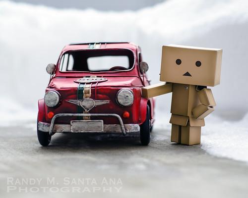 Danbo's Red Car.