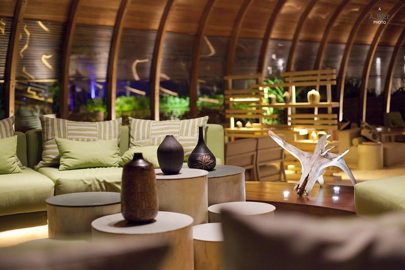The Dhoni Interior at Night