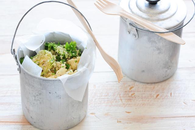 quinoa & feta salad
