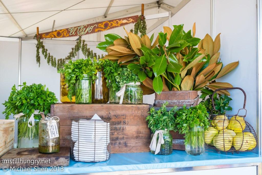 Taste of Sydney - green herbs