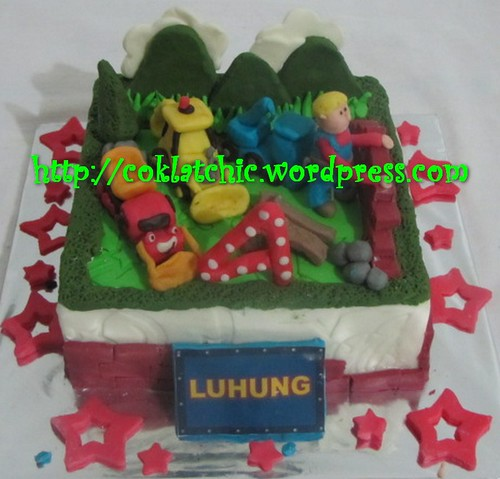 Cake Bob th Builder