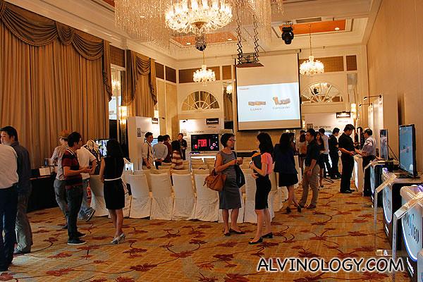 Panasonic product launch at Intercontinental Hotel, Grand Ballroom