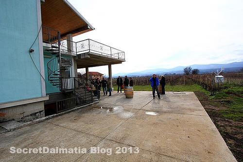 Grabovac estate in Imotski