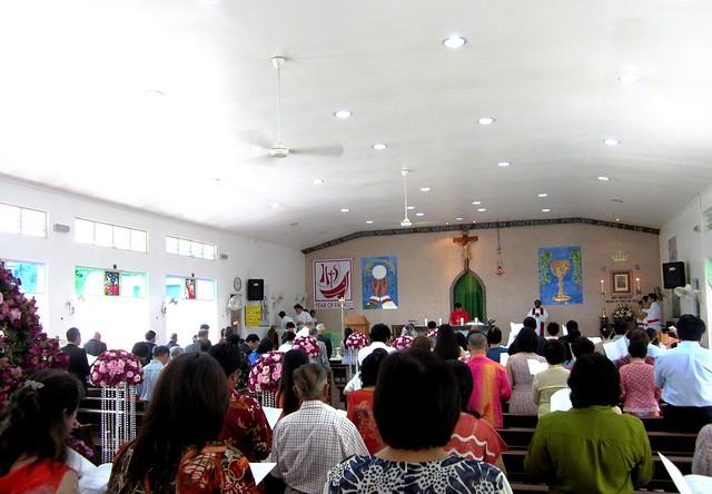 A&S wedding mass