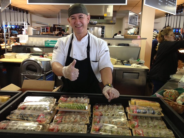 Snowboard Windham Mountain, then eat sushi