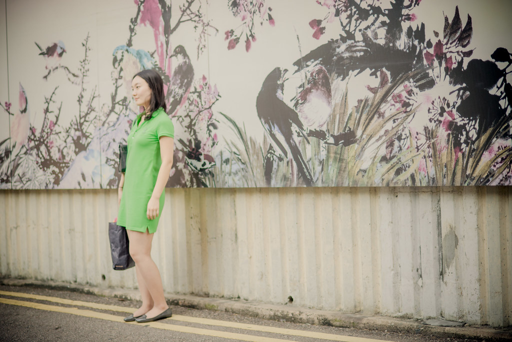 Outside the Yuen Po Street Bird Garden