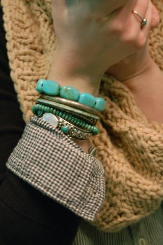 stack o' bracelets