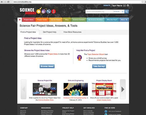 Science Buddies Screenshot