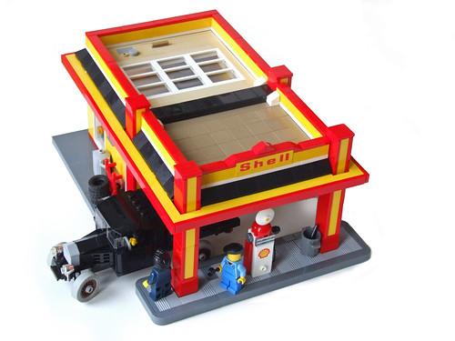 Shell Art Deco Gas Station
