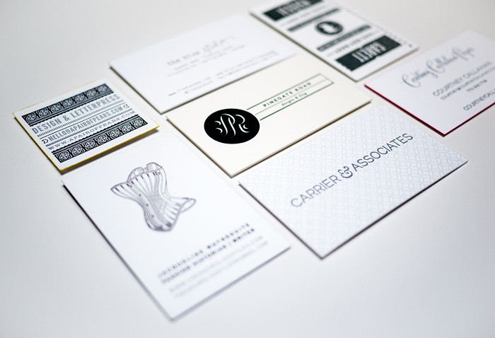 Alt Summit Business Cards 2013 - Black and White Pile