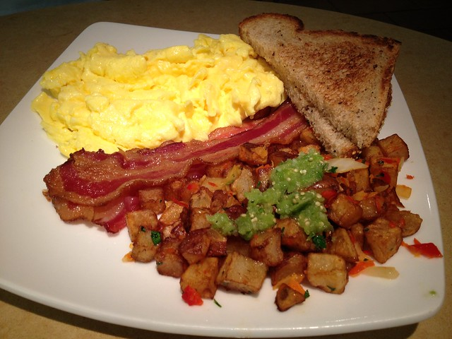 Full breakfast - Lark Creek Grill