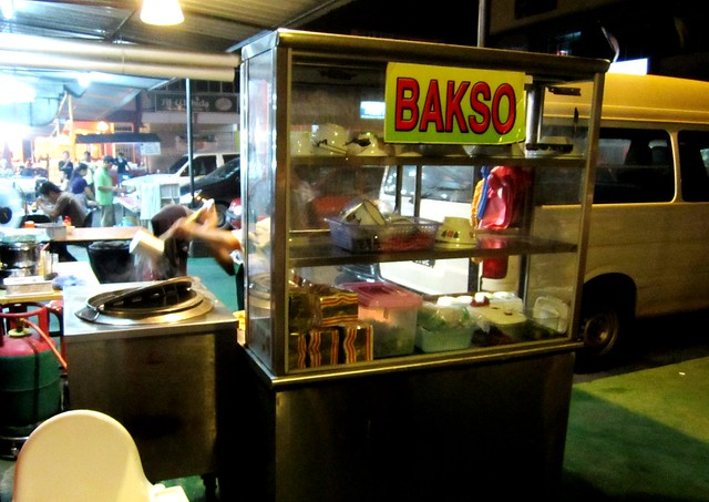 Bakso stall