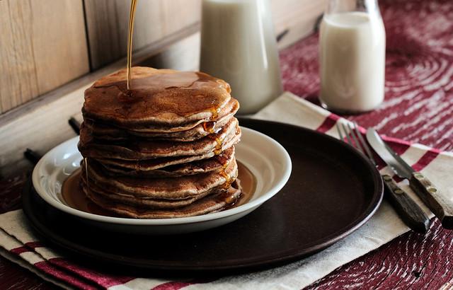 Banana Cinnamon Pancakes