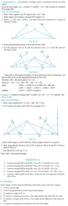 NCERT Class IX Maths Chapter 11 Constructions