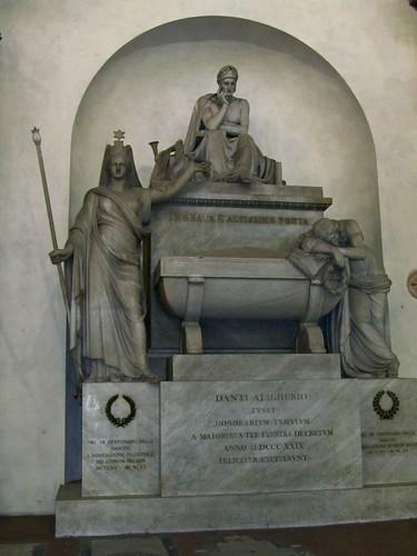 sepolcro Dante Alighieri Santa Croce Firenze