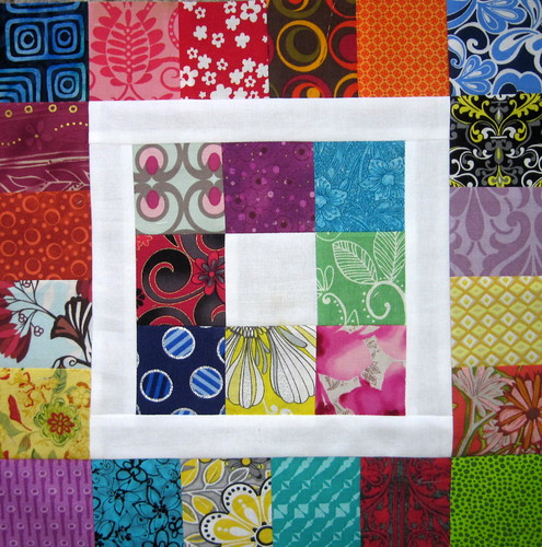 Patchwork Square in a Square 2