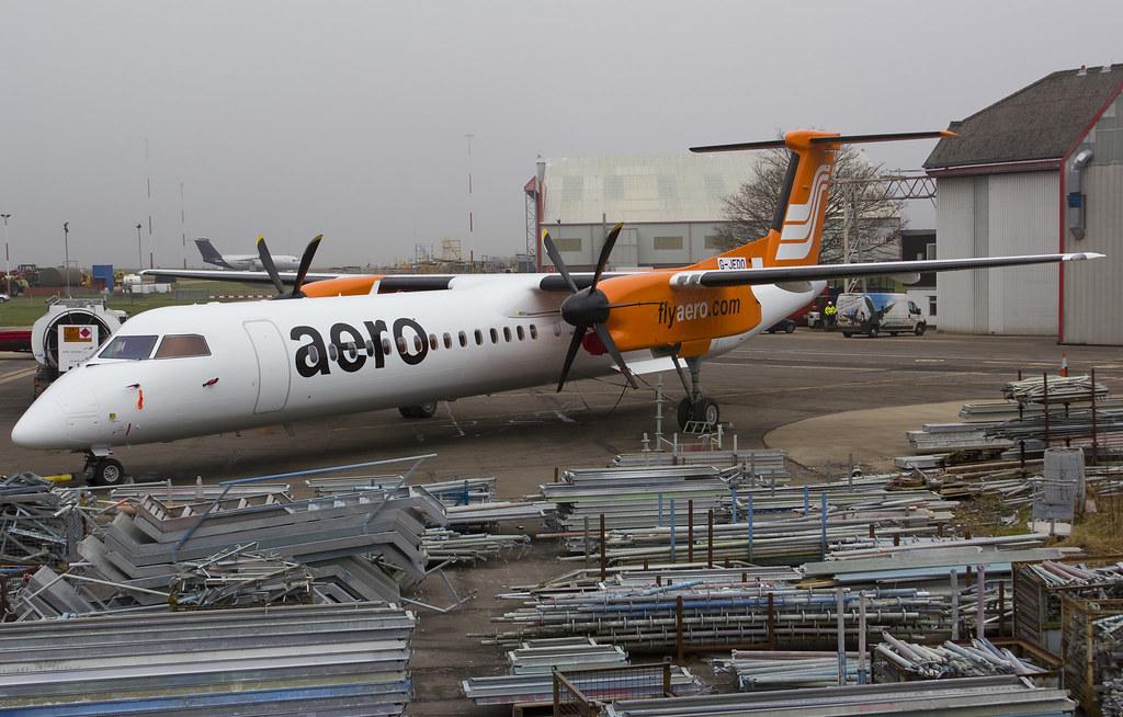 Aero - Dash 8-Q400 - 5N-BPU (copyright FlyingAnts)