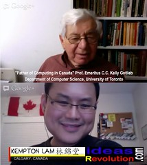 eps02 with Prof. Kelly Gotlieb, Father of Computing in Canada