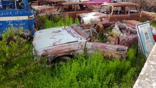 Abandoned JunkYard in the Middle of the City