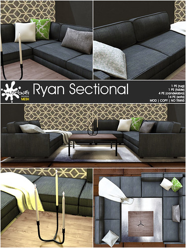 mudhoney ryan sectional