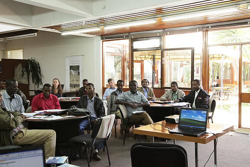 Local partners (research centers and universities) at the training (Photo credit: ILRI/Meron Mulatu)