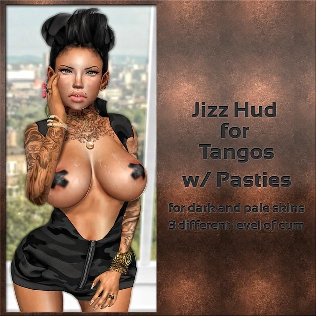 Jizz Hud w/ Pasties