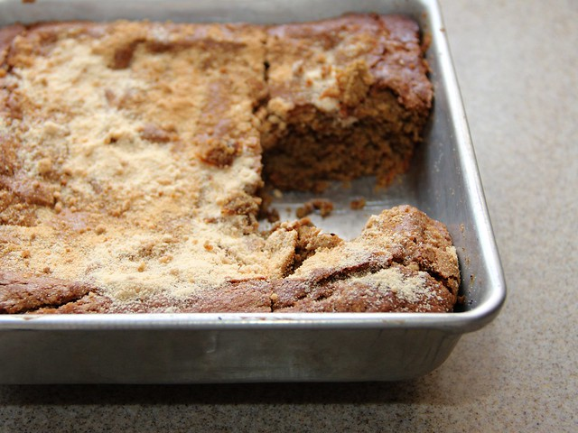 maple teff cake