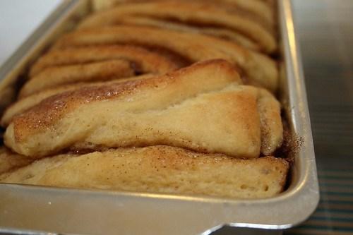 Pull Apart Bread de Canela