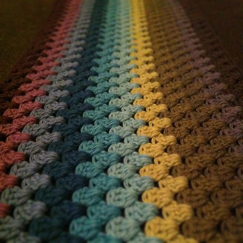 New #crochet #blanket it is confirmed that I have an obsession.
