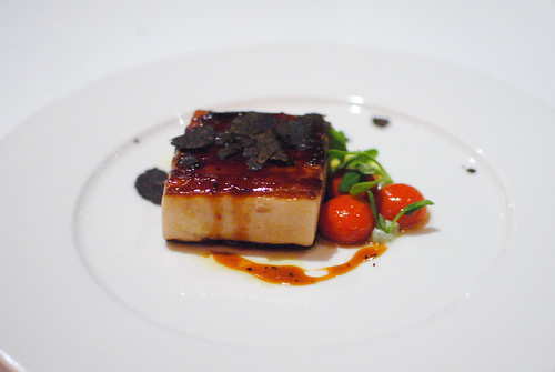 Pork Belly with Perigueux Sauce