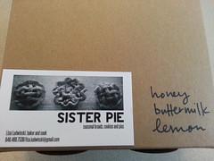 Honey Buttermilk Lemon Pie