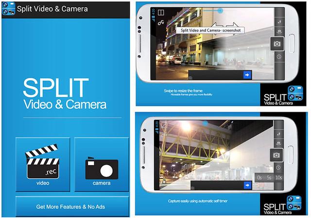 Split video & camera