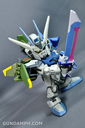 SDGO SD Launcher & Sword Strike Gundam Toy Figure Unboxing Review (43)