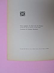 Roland Barthes, Il grado zero della scrittura. Lerici editori 1960, [progetto grafico di Ilio Negri?]. Colophon (part.), 1